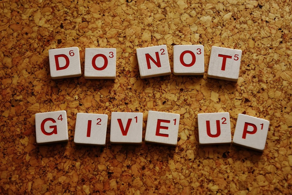motivace k běhu nikdy se nevzdávej