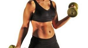 Posilovna 2: Ramena, biceps, triceps, břicho + cvičící plán