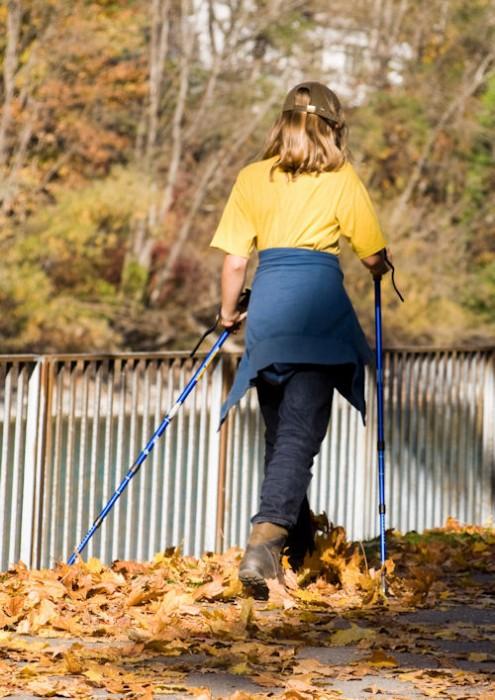 Rychlá chůze: pro zklidnění a regeneraci, i jako odrazový můstek