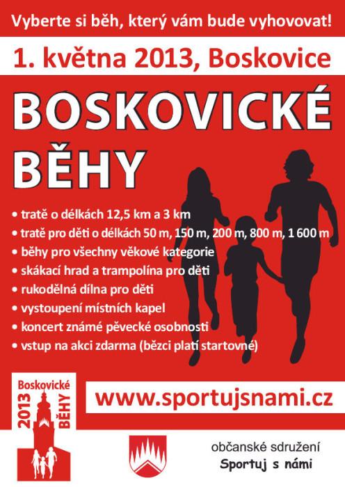 Boskovické běhy 2013 - 1. 5. 2013