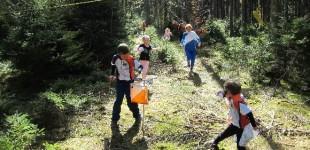 Orientační běh na klasické trati do Lesního divadla v Řevnicích - 19. 5.
