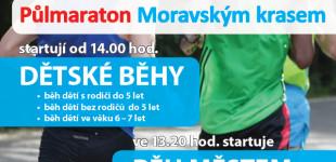 Půlmaraton Moravským krasem - 31. srpna