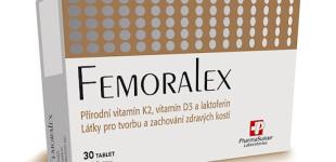 Doplněk stravy Femoralex může pomoci se zlomenými kostmi