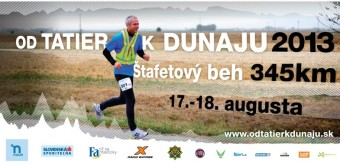 Štafetový běh 345 km Od Tatier k Dunaju startuje již za 4 dny