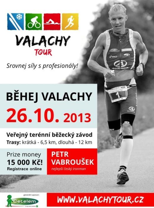 VALACHY TOUR vyvrcholí 26. října - BĚHEJ VALACHY