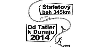 Štafetový běh Od Tatier k Dunaju - závod 2014