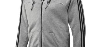 Recenze: Sportovní mikina Adidas ESS 3S Full Zip Hood