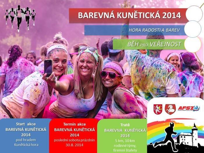 Barevná Kunětická 2014 – 30. 8. 2014