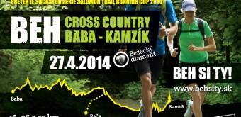 Horský běh Cross Country Baba – Kamzík – 27. 4.