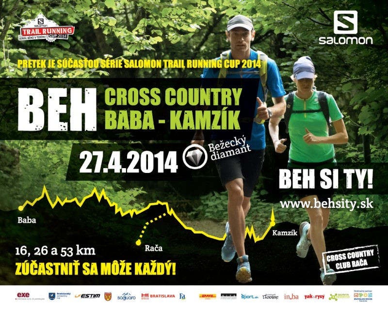 Horský běh Cross Country Baba – Kamzík – 27. 4.