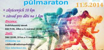Dobřichovický kros půlmaraton – 11. 5. 2014