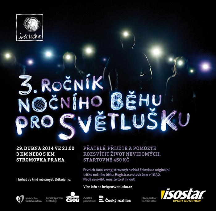 Běh pro Světlušku – 29. 4. 2014