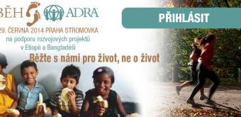 Poběžte s Adrou a pomůžete dětem a nemocným – 29. 6.