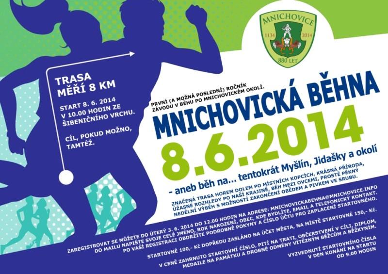 Závod mnichovická běhna – 8. 6. 2014