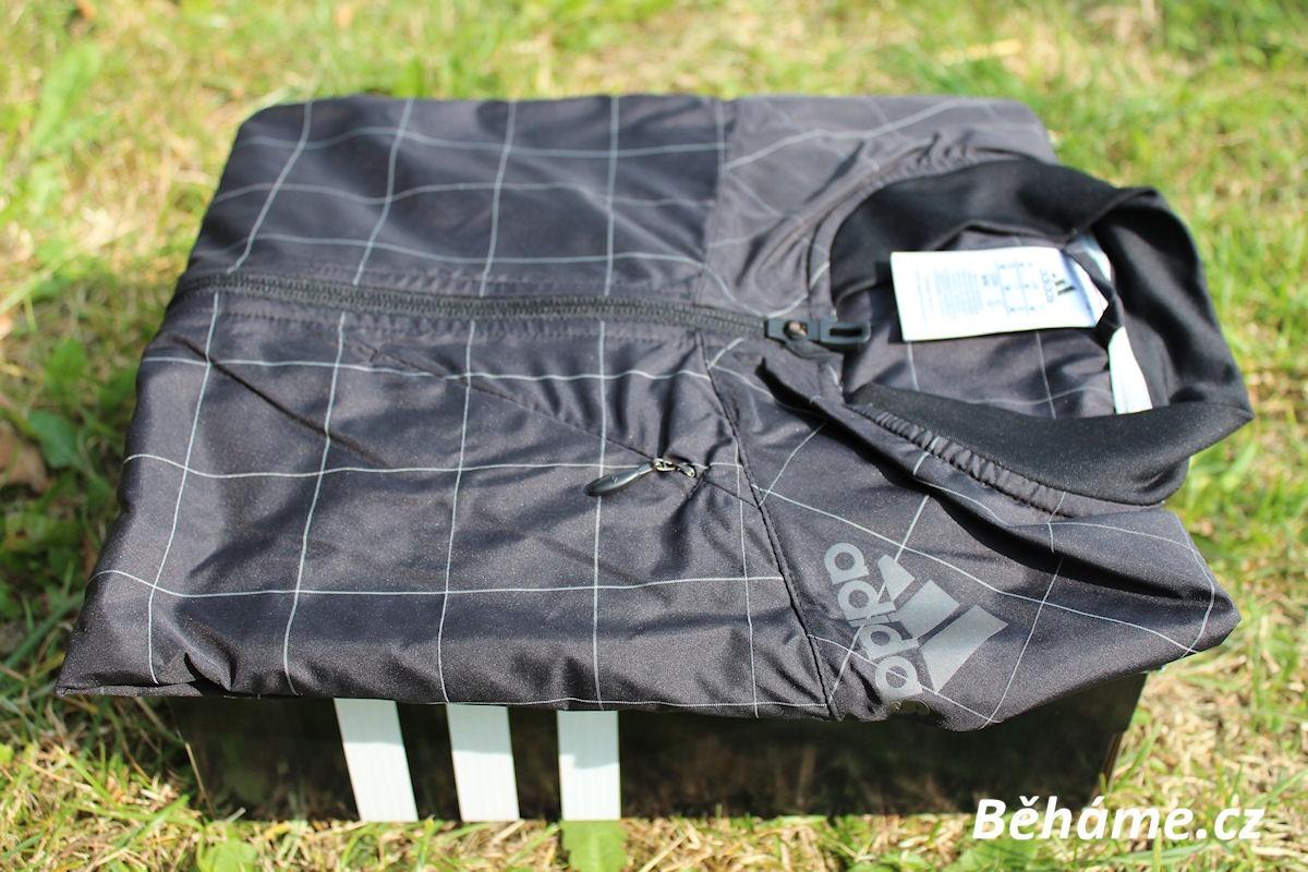 běžecká bunda adidas na běhání