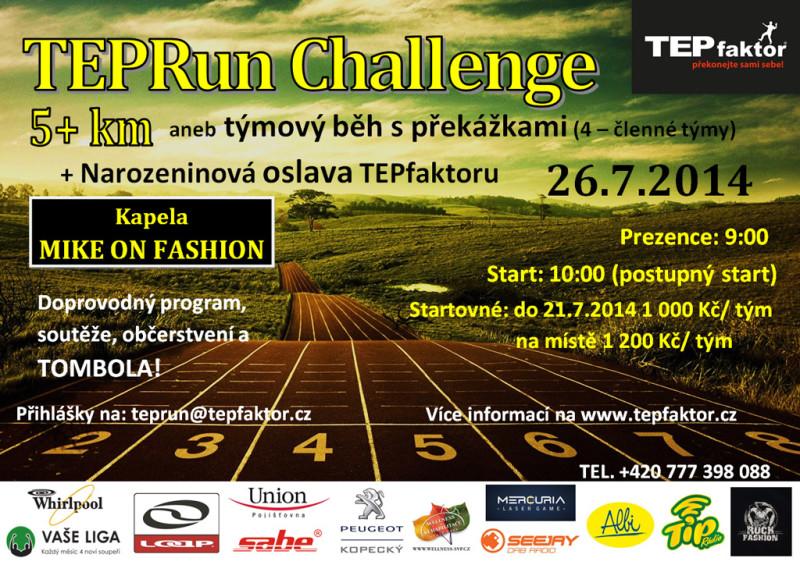 TEPRun Challenge