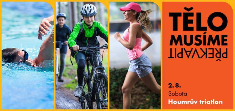 Amatérský triatlonový závod v Jiříkově – 2. srpna 2014