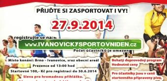 Ivanovický sportovní den – 27. 9. 2014