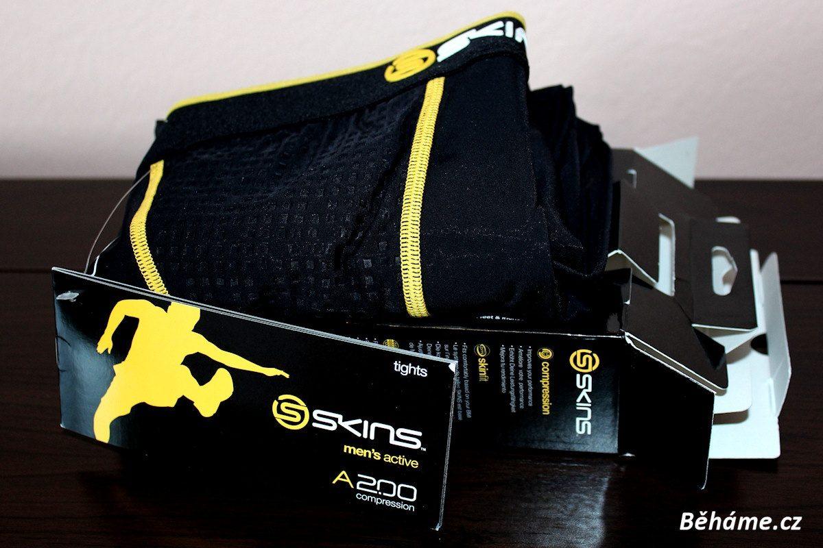 Recenze: Běžecké kalhoty Skins Bio A200 Mens Long Tights