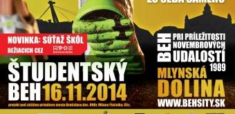 Študentský beh – 16. 11. 2014