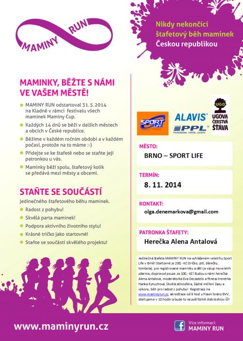 MAMINY RUN – 8. 11. 2014 Brno