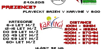 2. ročník Karvinského Aquatlonu – 24.1.2015