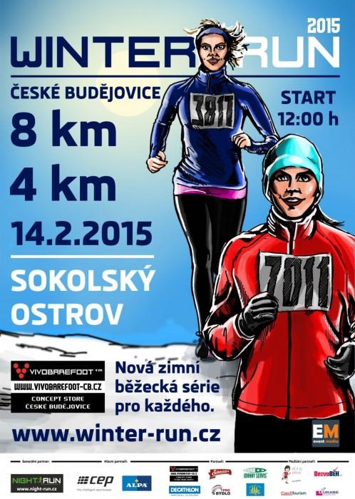 Winter Run 2015 České Budějovice – 14. 2. 2014