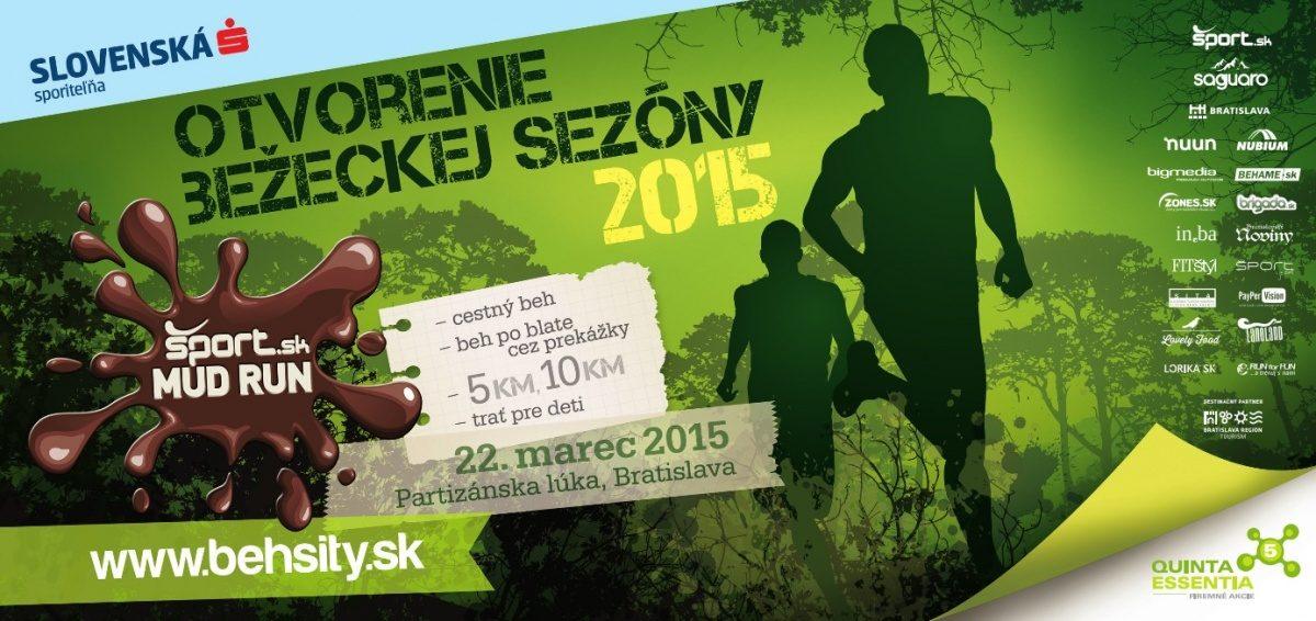 Šport.sk MUD RUN – 22. 3. 2015