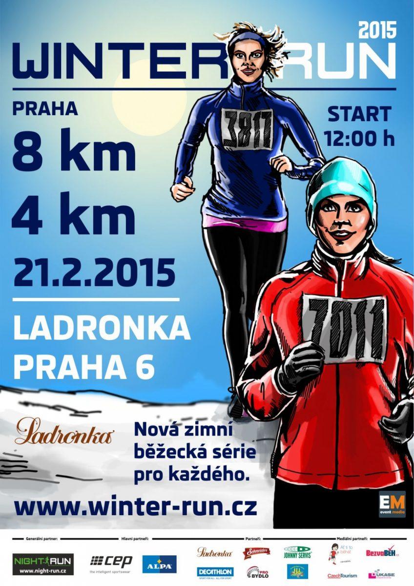 Winter Run 2015 Praha – 21. 2. 2015