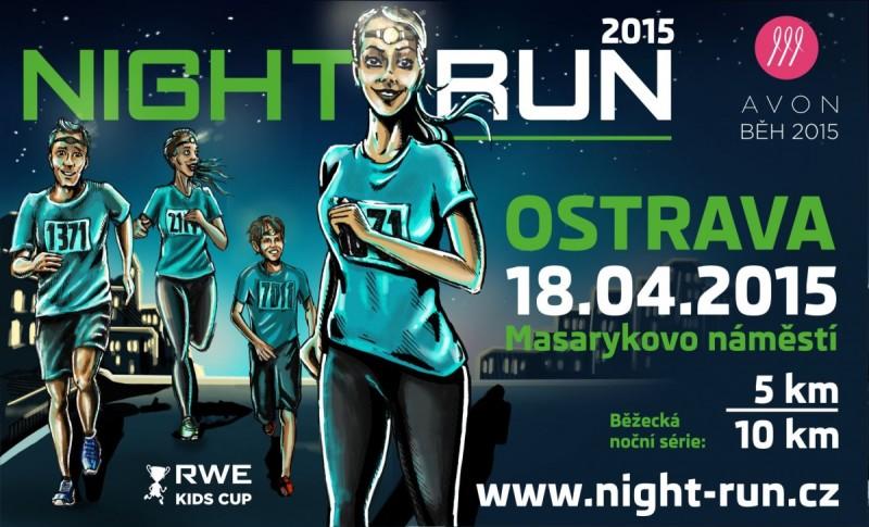 Night Run 2015 – Ostrava (18.4.) a Hradec Králové (25.4.)