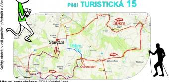 Krátkoveská 30km a turistická 15km – 1. 8. 2015