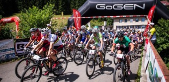 Start závodu Bike Valachy