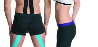 Zvítězte nad bolestí při sportu: kinesio-taping