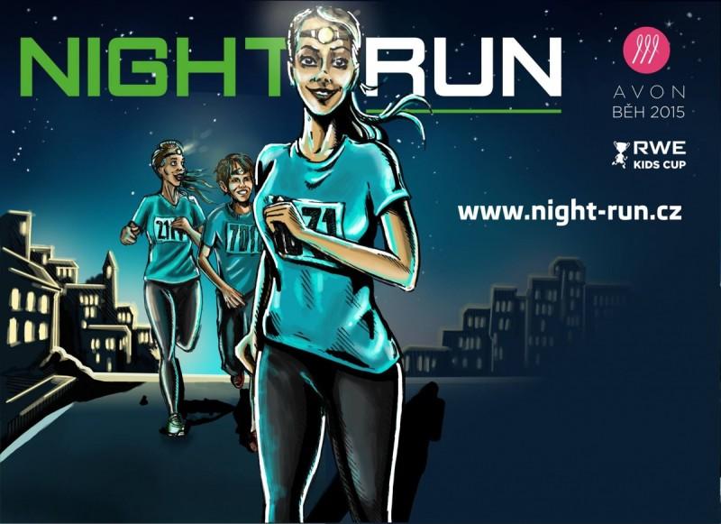 Night Run 2015 Most – 15. 8.