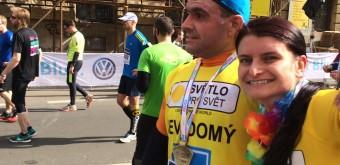 V cíli Pražského půlmaratonu