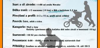 2. ročník Božího běhu a mistrovství světa v běhu s kočárkem – 19. 9.