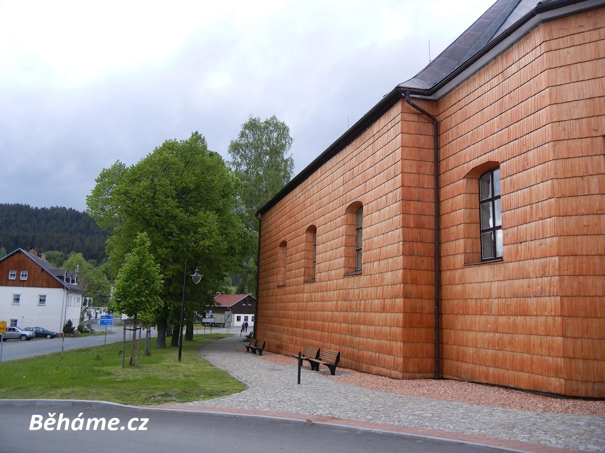 Kostel Srní Národní park Šumava