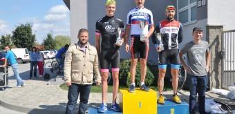 Záverečné dekorovanie najlepších jednotlivcov v 21. edícii Trnavskej cyklistickej ligy.