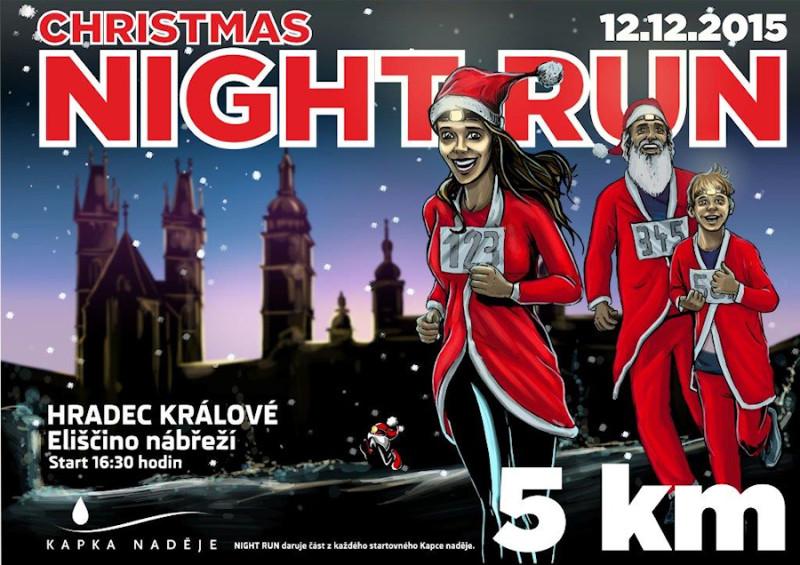 Christmas Night Run 2015 – Hradec Králové – 12. 12. 2015