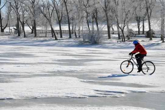 LIPNO ICE MARATHON - možnost závodu na kolech