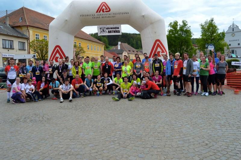Běh medvěda Brtníka 2016 – 7. 5. 2016