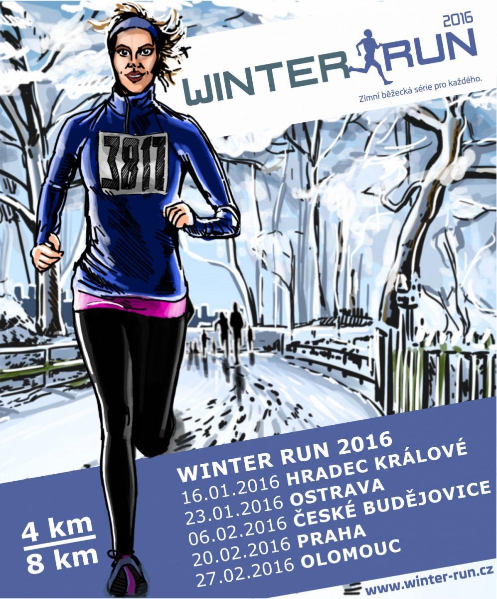 Winter Run 2016 opět v Olomouci – 27. 2. 2016