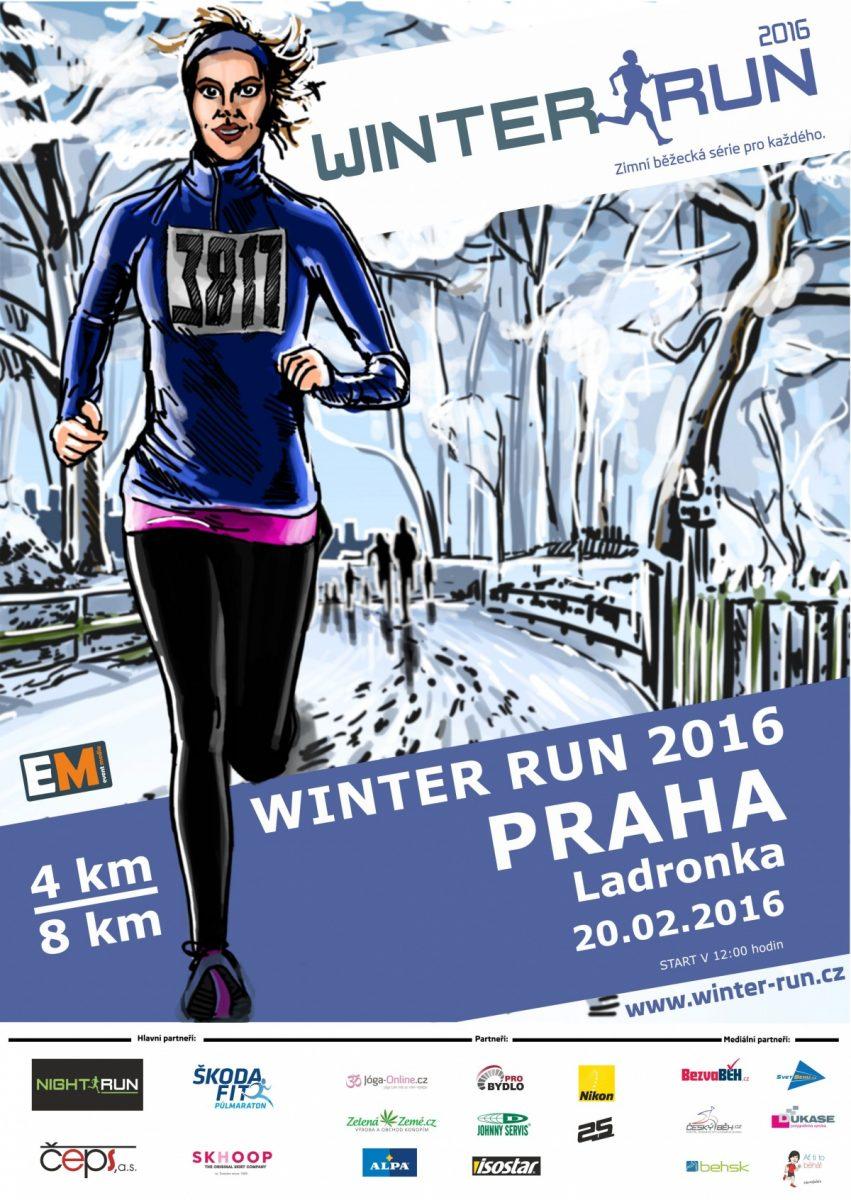 Winter Run 2016 opět po roce v Praze na Ladronce – 20. 2. 2016