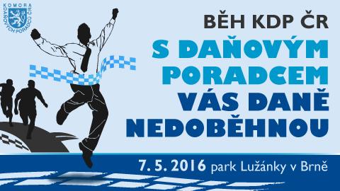 Běh KDP ČR – park Lužánky v Brně – 7. 5. 2016