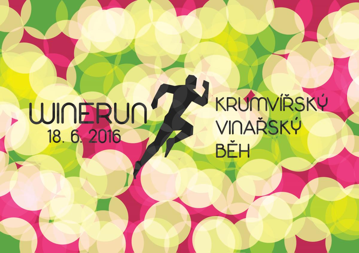 Winerun – Krumvířský vinařský běh – 18. 6. 2016