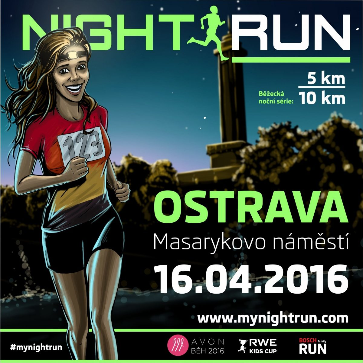 NIGHT RUN OSTRAVA 2016 – 16. 4. 2016