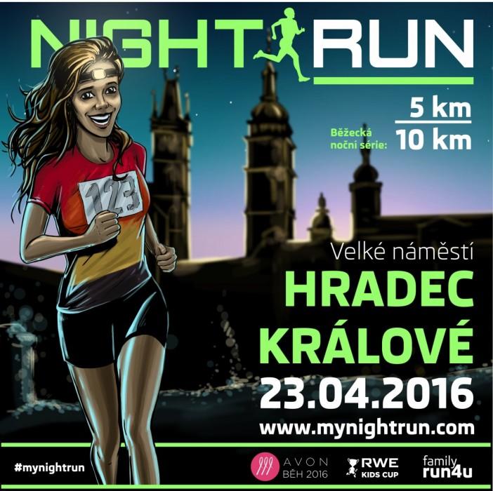 Night Run 2016 – Hradec Králové – 23. 4. 2016