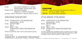 IVANOVICKÝ SPORTOVNÍ DEN – 16. 4. 2016