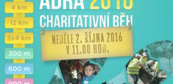 Adra 2016 charitativní běh – 2. 10. 2016