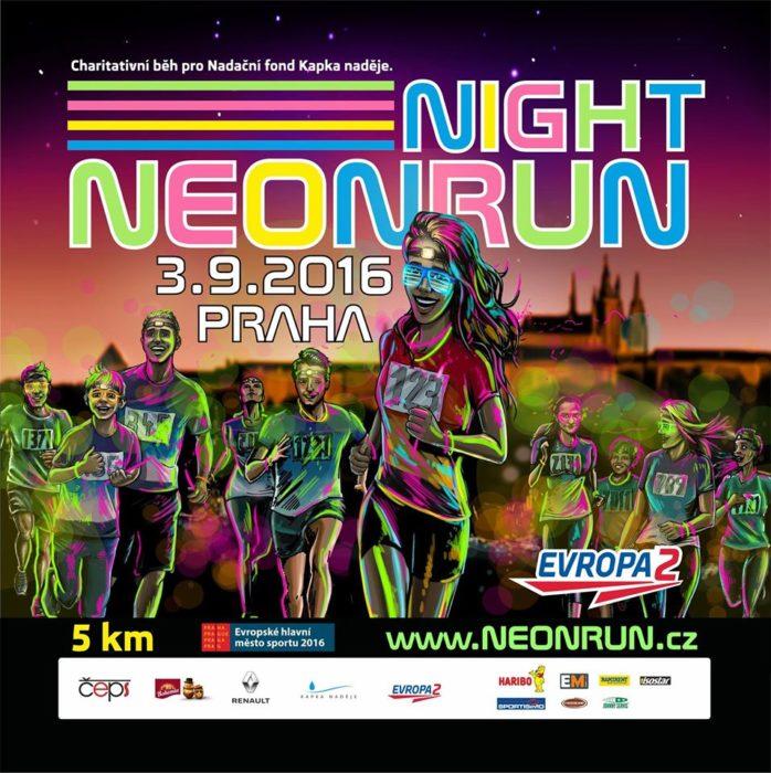 Neon Night Run 2016 Praha – 3. 9. 2016